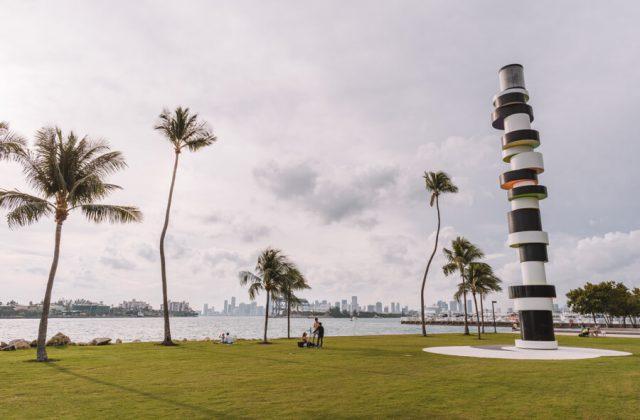 Miami Beach Sehenswuerdigkeiten Urlaub South Pointe Park