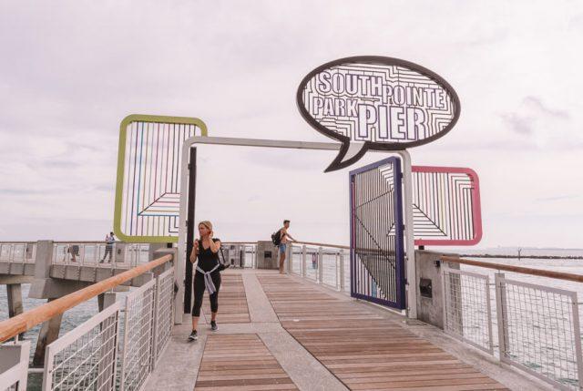 Miami Beach Sehenswuerdigkeiten Urlaub South Pointe Park Pier-2