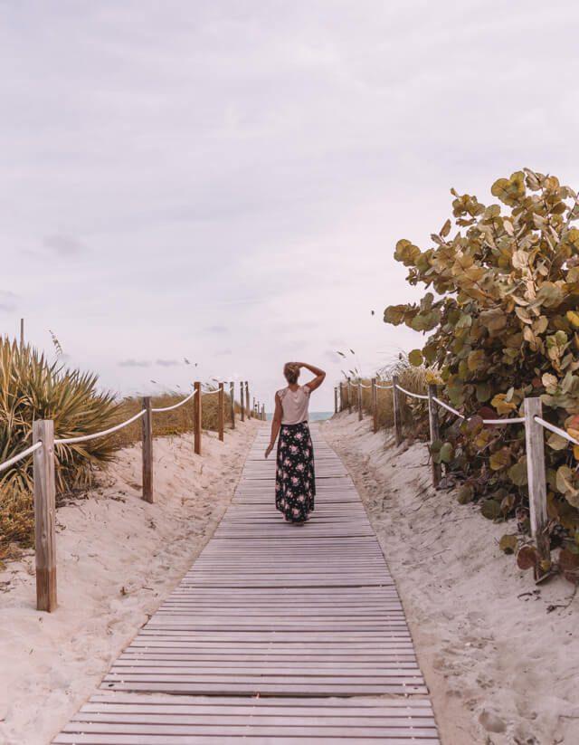 Miami Beach Sehenswuerdigkeiten Urlaub Strandpromenade