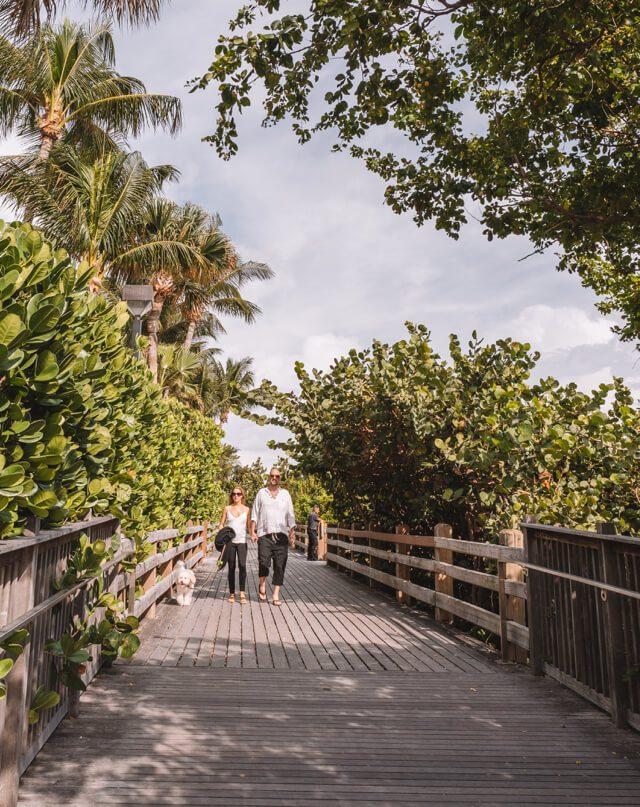 Miami Beach Sehenswuerdigkeiten Urlaub Strandpromenade South Beach
