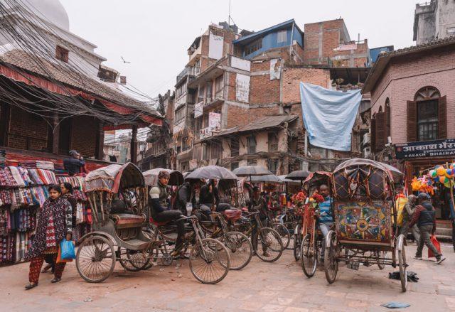 Nepal Reisen Kathmandu Altstadt