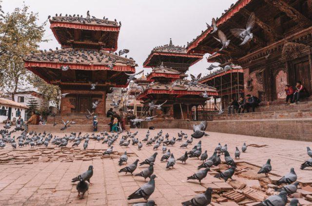 Nepal Reisen Kathmandu Durbar Square-2