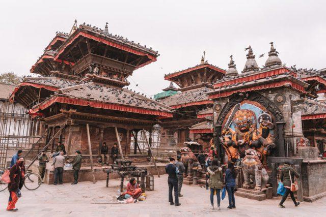 Nepal Reisen Kathmandu Durbar Square
