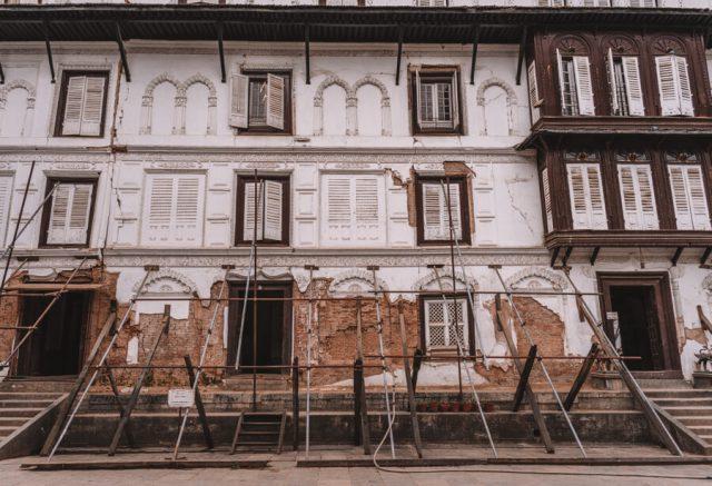 Nepal Reisen Kathmandu Durbar Square Erdbeben