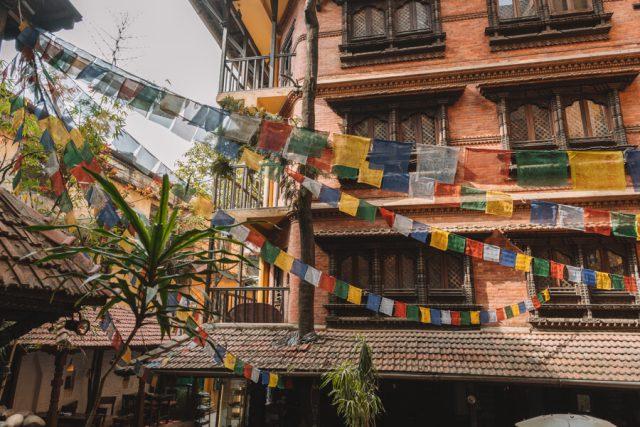 Nepal Reisen Kathmandu Mandala Street