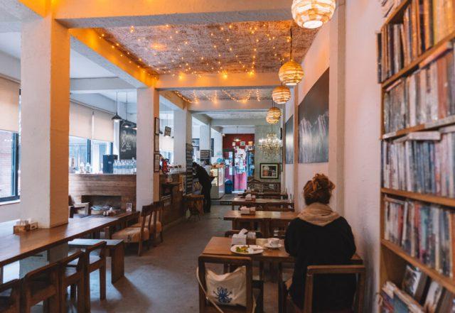 Nepal Reisen Kathmandu Mandala Street Java Coffee