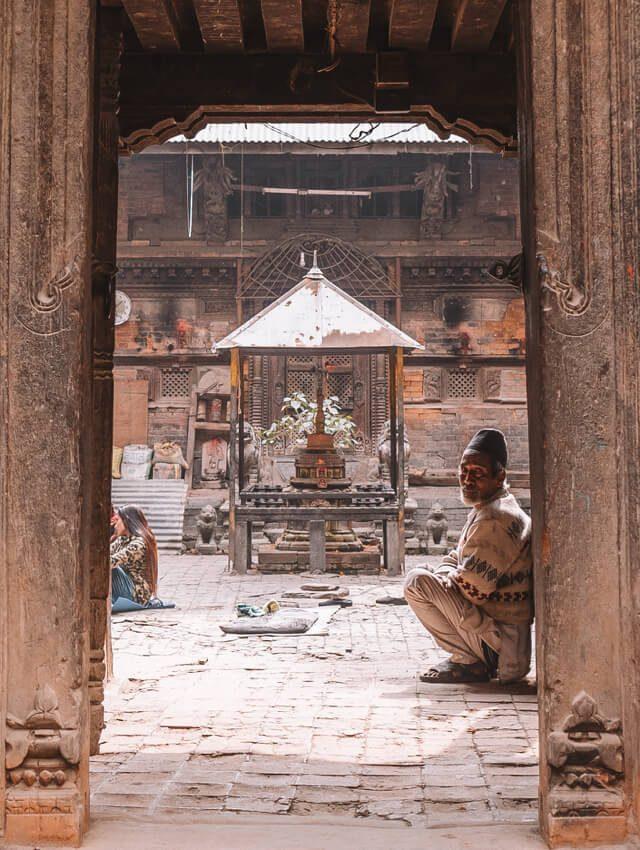 Nepal Reisen Kathmandu Nepalese