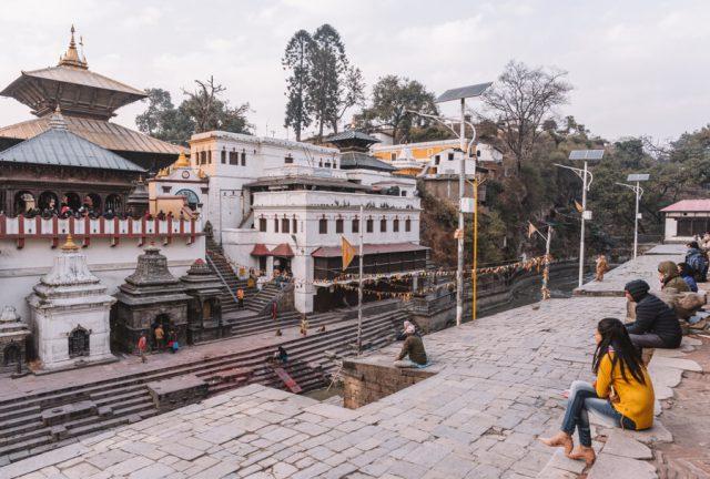 Nepal Reisen Kathmandu Pashupatinath Tempel-2
