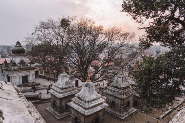 Nepal Reisen Kathmandu Pashupatinath Tempel-3
