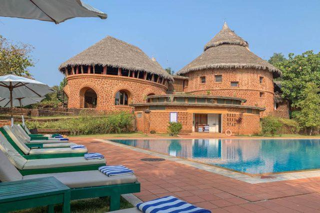 Yoga Urlaub Indien SwaSwara Om Beach
