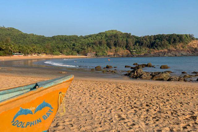 Yoga Urlaub Indien Om Beach