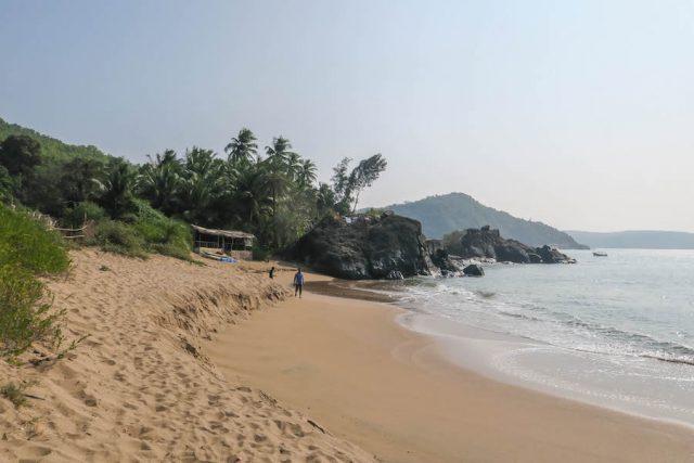 Yoga Urlaub Indien Half Moon Bay