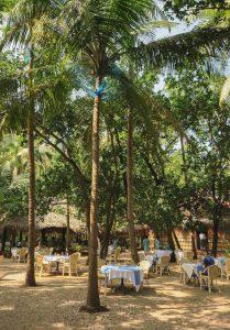 Yoga Urlaub Indien SwaSwara Restaurant