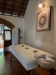 Yoga Urlaub Indien SwaSwara Ayurveda Massage