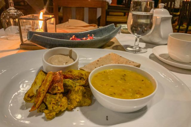 Yoga Urlaub Indien SwaSwara Essen