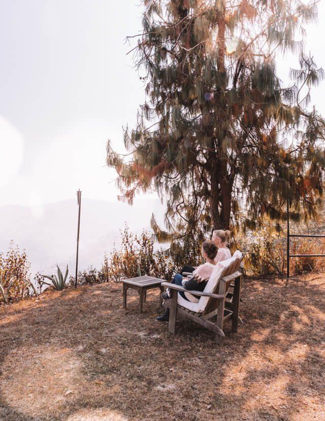 Dhulikhel Dwarikas Resort Nepal Aussicht