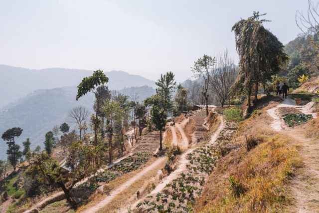 Dhulikhel Dwarikas Resort Nepal Farmbesuch