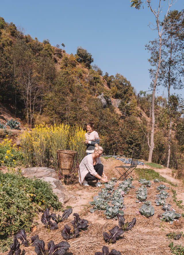 Dhulikhel Dwarikas Resort Nepal Farming
