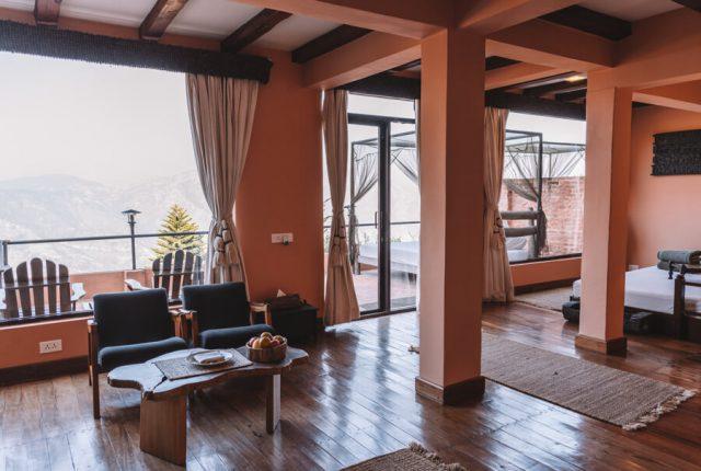 Dhulikhel Dwarikas Resort Nepal Zimmer