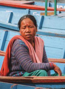Highlights Nepal Pokhara Fewa See Einheimische