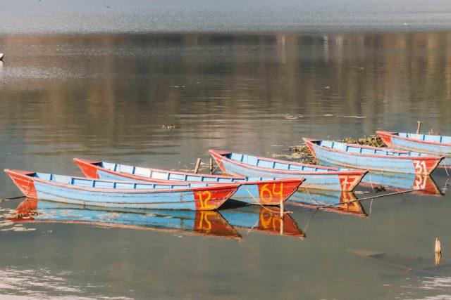 Highlights Nepal Pokhara Fewa See Boote