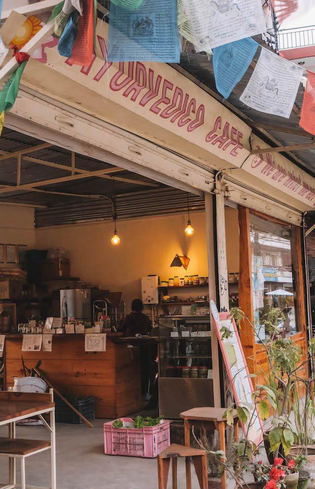 Highlights Nepal Pokhara Fewa See Ayurvedico Cafe