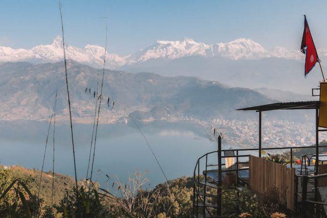 Highlights Nepal Pokhara Fewa See Ausblick