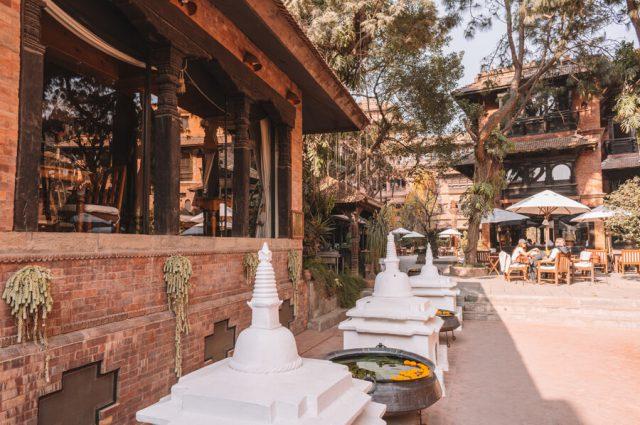 Nepal Reisen Kathmandu Dwarikas Hotel-2