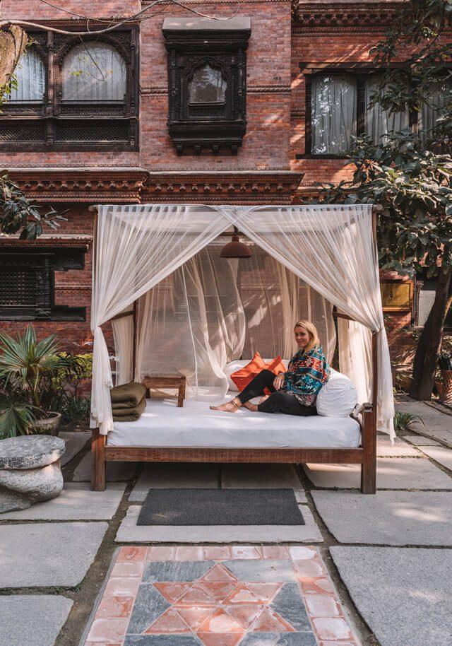 Nepal Reisen Kathmandu Dwarikas Hotel