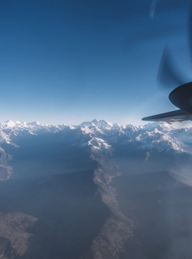 Nepal Reisen Kathmandu Mountain Flight Mount Everest