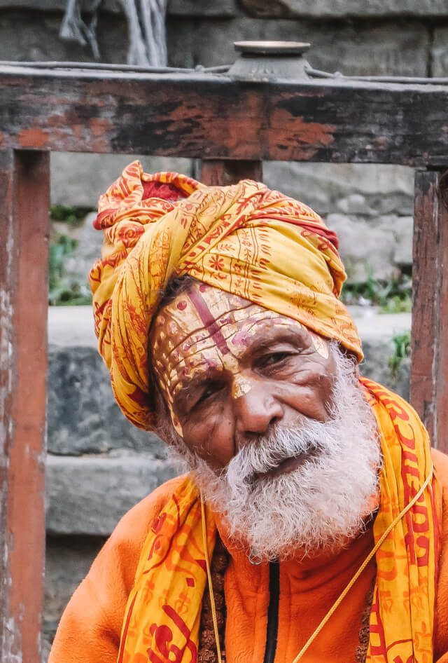 Nepal Reisen Kathmandu Sadhu