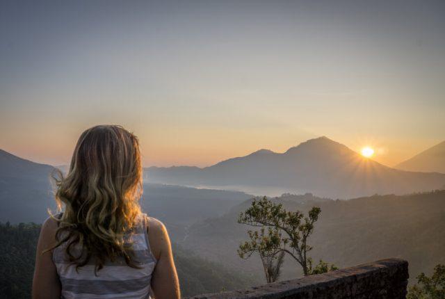 Bali Sehenswuerdigkeiten Gunung Batur Vulkan