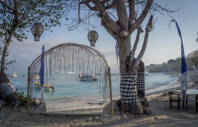 Bali Sehenswuerdigkeiten Nusa Lembongan Mushroom Bay