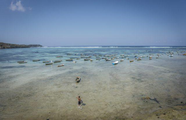 Bali Sehenswuerdigkeiten Nusa Lembongan Seetang Lagune