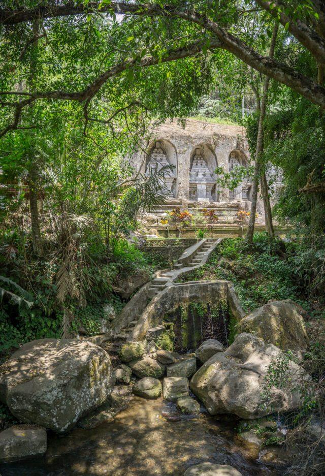 Bali Sehenswuerdigkeiten Tempel Gunung Kawi