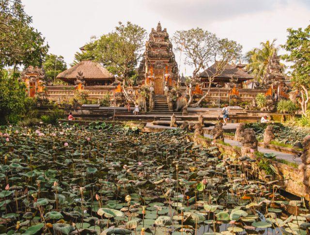 Bali Sehenswuerdigkeiten Ubud Wassertempel