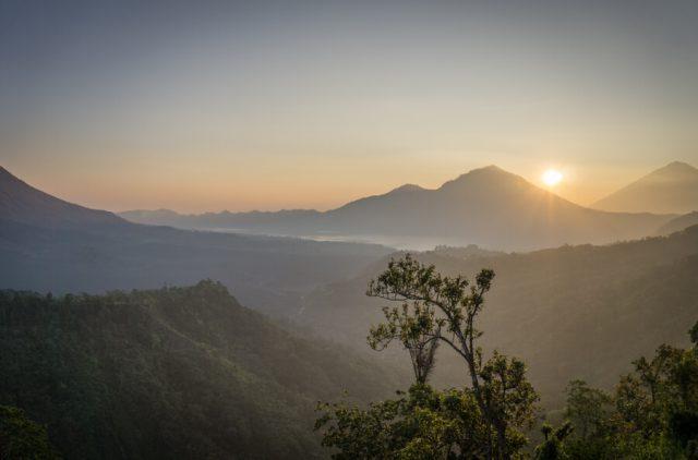 Bali Sehenswuerdigkeiten Vulkan Gunung Batur