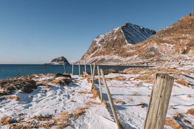 Haukland Strand Norwegen