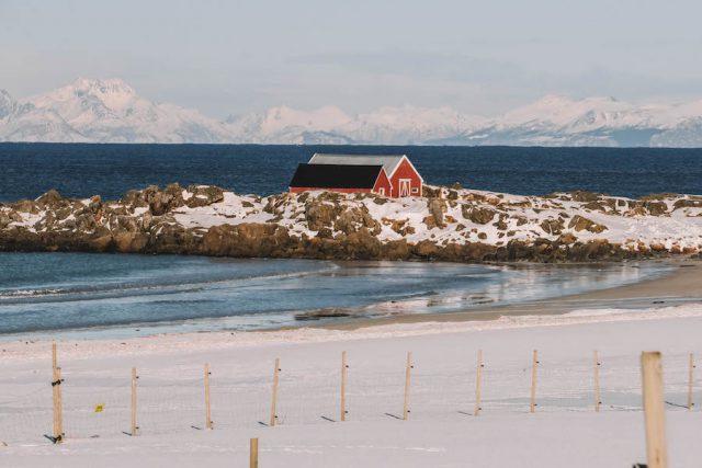 Landschaft Lofoten Norwegen