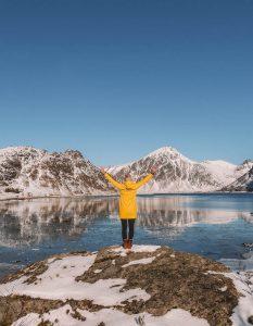 Lofoten Urlaub Berge