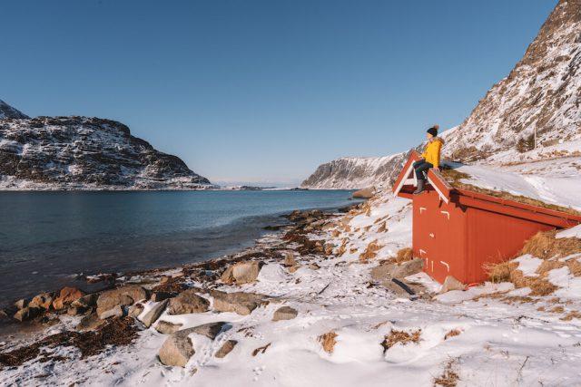 Lofoten Urlaub Norwegen Fischerhuette