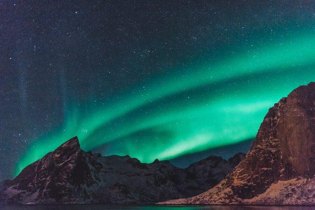 Lofoten Urlaub Norwegen Nordlichter