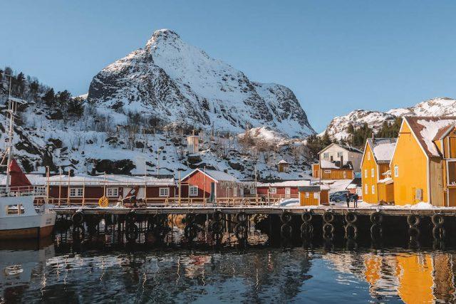 Nusfjord Loften Norwegen