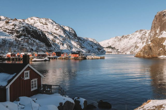 Nusfjord Loften Urlaub