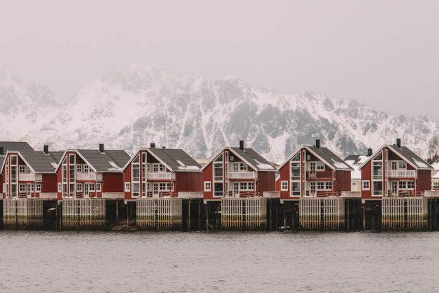 Solvaer Lofoten Norwegen