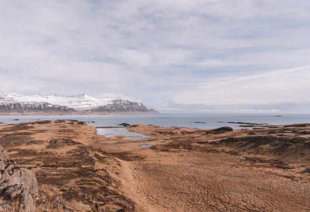 Camping Island Ostfjorde Djupivogur Aussichtspunkt