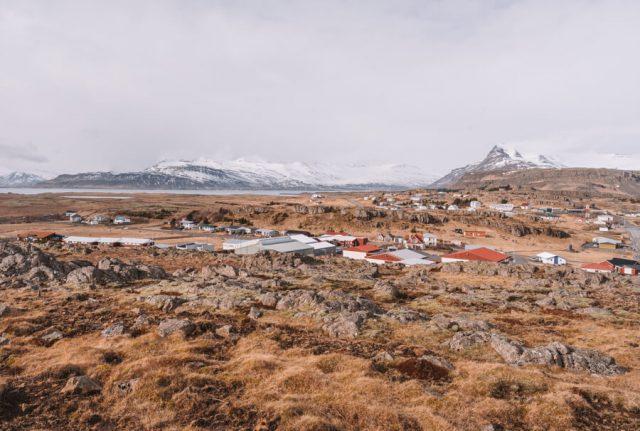Camping Island Ostfjorde Djupivogur Viewpoint