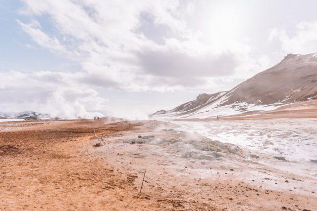 Island Myvatn Hochtemperaturgebiet Hverir-2