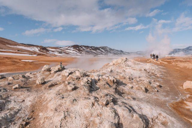 Island Myvatn Hochtemperaturgebiet Hverir
