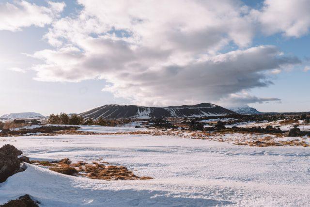 Island Myvatn Krater